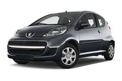 Peugeot 107 Filou Kleinwagen (2005 - 2014) 3 Türen seitlich vorne mit Felge