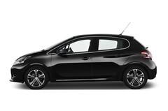 Peugeot 208 Allure Kleinwagen (2012 - heute) 5 Türen Seitenansicht