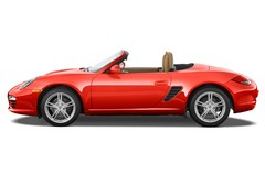 Porsche Boxster - Cabrio (2004 - 2011) 2 Türen Seitenansicht