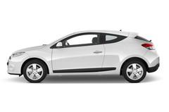 Renault Megane Coupe Kompaktklasse (2008 - 2016) 3 Türen Seitenansicht