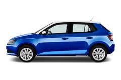 Skoda Fabia Ambition Kleinwagen (2014 - heute) 5 Türen Seitenansicht