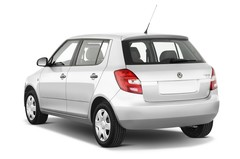 Skoda Fabia - Kompaktklasse (2007 - 2014) 5 Türen seitlich hinten