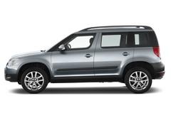 Skoda Yeti Yeti SUV (2009 - heute) 5 Türen Seitenansicht