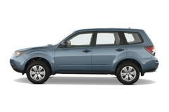 Subaru Forester - Kombi (2008 - 2013) 5 Türen Seitenansicht