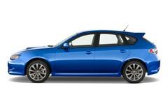 Subaru Impreza WRX STI Kombi (2000 - 2007) 5 Türen Seitenansicht