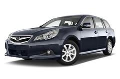Subaru Legacy Sport Kombi (2009 - heute) 5 Türen seitlich vorne mit Felge