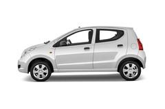 Suzuki Alto Club Kleinwagen (2009 - 2014) 5 Türen Seitenansicht