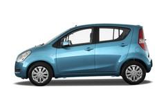Suzuki Splash Club Kleinwagen (2008 - 2014) 5 Türen Seitenansicht