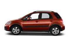Suzuki SX4 Club Kompaktklasse (2006 - 2013) 5 Türen Seitenansicht