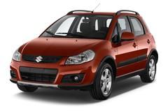 Suzuki SX4 Club Kompaktklasse (2006 - 2013) 5 Türen seitlich vorne