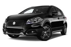 Suzuki SX4 Comfort+ Kompaktklasse (2013 - heute) 5 Türen seitlich vorne mit Felge