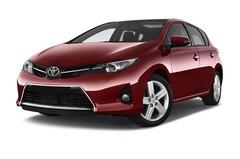 Toyota Auris Life Kompaktklasse (2012 - heute) 5 Türen seitlich vorne mit Felge