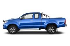 Toyota HiLux - Pritsche (2005 - 2015) 2 Türen Seitenansicht