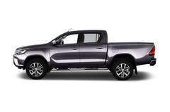 Toyota HiLux Comfort Pritsche (2015 - heute) 4 Türen Seitenansicht