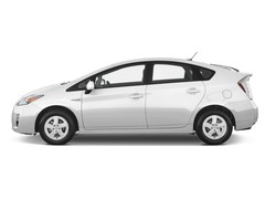Toyota Prius - Limousine (2009 - 2016) 5 Türen Seitenansicht