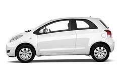 Toyota Yaris Cool Kleinwagen (2005 - 2011) 3 Türen Seitenansicht