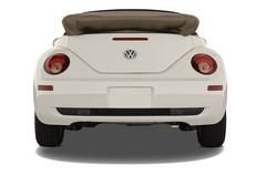 VW Beetle - Cabrio (1997 - 2010) 2 Türen Heckansicht