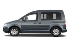 VW Caddy TDI Transporter (2003 - 2015) 5 Türen Seitenansicht