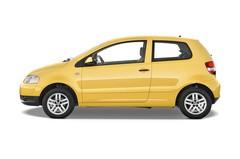 VW Fox Style Kleinwagen (2005 - 2011) 3 Türen Seitenansicht