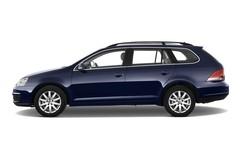 VW Golf - Kombi (2007 - 2009) 5 Türen Seitenansicht