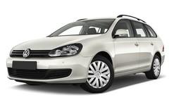 VW Golf Trendline Kombi (2009 - 2013) 5 Türen seitlich vorne mit Felge