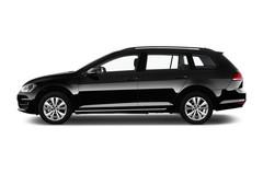 VW Golf Trendline Kombi (2013 - heute) 5 Türen Seitenansicht