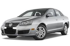 VW Jetta Comfortline Kompaktklasse (2005 - 2010) 4 Türen seitlich vorne mit Felge