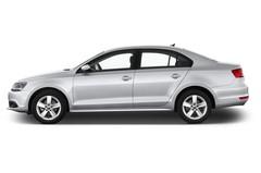 VW Jetta Comfortline Bluemotion Technology Kompaktklasse (2010 - heute) 4 Türen Seitenansicht