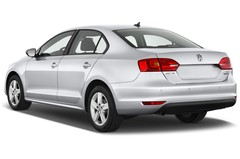 VW Jetta Comfortline Bluemotion Technology Kompaktklasse (2010 - heute) 4 Türen seitlich hinten