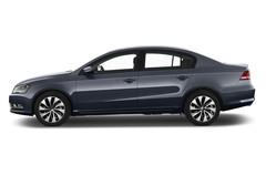 VW Passat Bluemotion Limousine (2010 - 2014) 4 Türen Seitenansicht