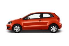 VW Polo Trendline Kleinwagen (2009 - heute) 3 Türen Seitenansicht