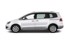 VW Sharan Highline Van (2010 - heute) 5 Türen Seitenansicht