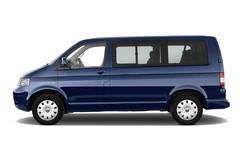 VW T5 Comfortline Bus (2003 - 2015) 4 Türen Seitenansicht