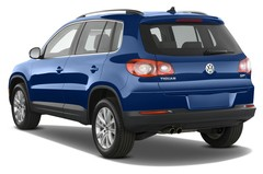 VW Tiguan Sport & Style SUV (2007 - 2015) 5 Türen seitlich hinten