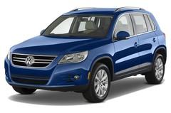 VW Tiguan Sport & Style SUV (2007 - 2015) 5 Türen seitlich vorne