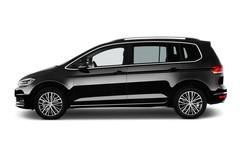 VW Touran Highline Van (2015 - heute) 5 Türen Seitenansicht