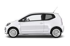 VW Up White up! Kleinwagen (2011 - heute) 3 Türen Seitenansicht