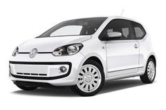 VW Up White up! Kleinwagen (2011 - heute) 3 Türen seitlich vorne mit Felge