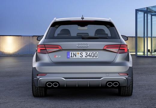 Audi S3 Sportback (2016-2016) Heck