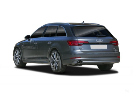 Audi A4 Avant 2.0 TDI (seit 2016) Heck + links