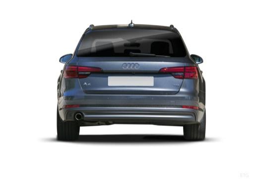 Audi A4 Avant 2.0 TDI quattro (seit 2016) Heck