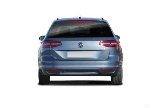VW Passat Variant 1.4 TSI BlueMotion Technology DSG (2015-2016) Heck