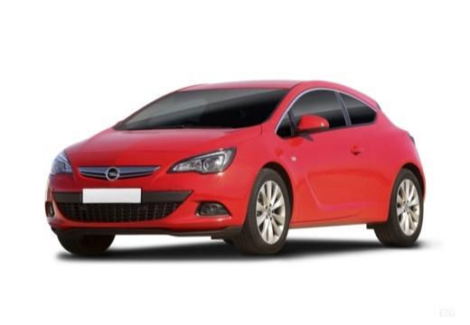 Opel Astra GTC 1.4 Turbo (2017-2017) Front + links