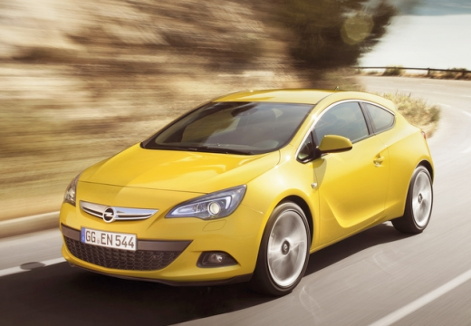 Opel Astra GTC 1.4 Turbo (2016-2016) Front + links