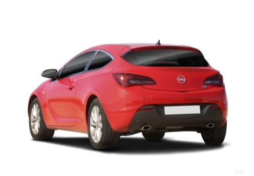 Opel Astra GTC 1.4 Turbo (2017-2017) Heck + links