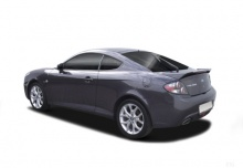 Hyundai Coupe 2.7 V6 Automatik (2007-2009) Heck + links