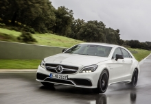 Mercedes-Benz CLS 63 AMG AMG SPEEDSHIFT MCT (2014-2014) Front + links
