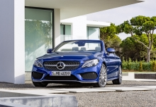 Mercedes-Benz C 400 Cabrio 4Matic 9G-TRONIC (seit 2016) Front