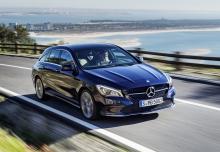 Mercedes-Benz CLA Shooting Brake 180 (seit 2016) Front + rechts