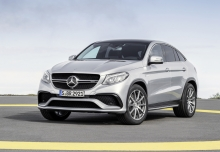 Mercedes-Benz AMG GLE 43 Coupe 4M 9G-TRONIC (seit 2016) Front + links